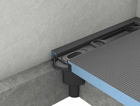 Vertical drain for Fundo Riolito Neo, Riolito, Riofino, RioLigno (Linear drainage)