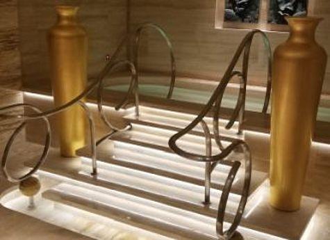 wedi realisiert Sonderanfertigung für chinesisches Luxushotel