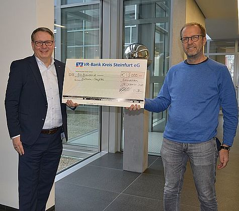 Spenden statt Schenken! - Nachhaltige Hilfe der wedi GmbH