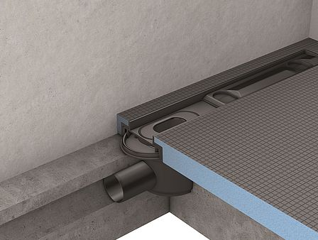 Horizontal drain for Fundo Riolito neo, Riolito, Riofino (Linear drainage)