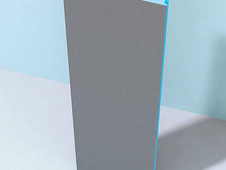 Segmento del pannello diritto 600 x 50 x 2600