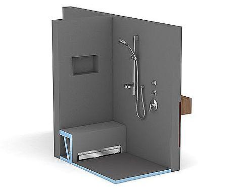 Fundo Duschelemente: sicher, individuell und leicht montiert