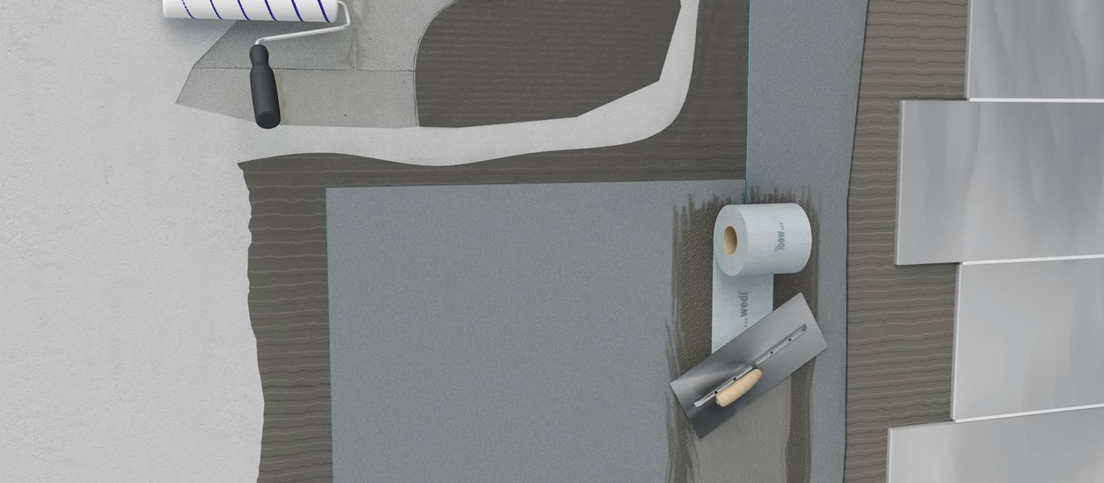 Abdichten mit der Bauplatte