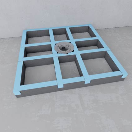 unterbausystem. Black Bedroom Furniture Sets. Home Design Ideas