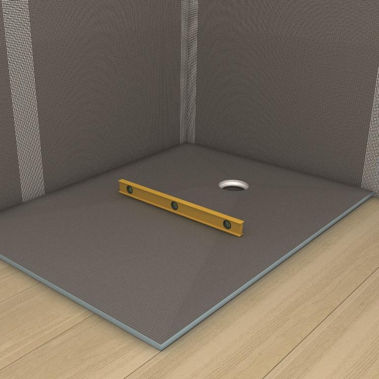 punktentw sserung auf holzbalkendecken fundo ligno. Black Bedroom Furniture Sets. Home Design Ideas