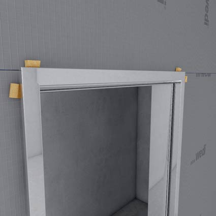 glast r mit zarge. Black Bedroom Furniture Sets. Home Design Ideas