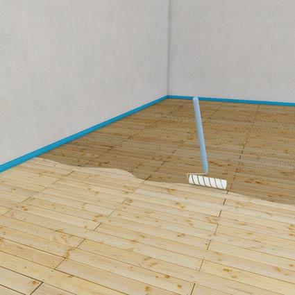 Wedi plaat op houten vloer – Aanbouw huis voorbeelden
