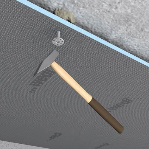 Plafonds irr guliers for Carrelage au plafond