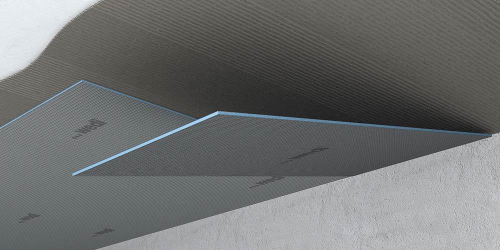 Plafonds portants for Faux carrelage a coller
