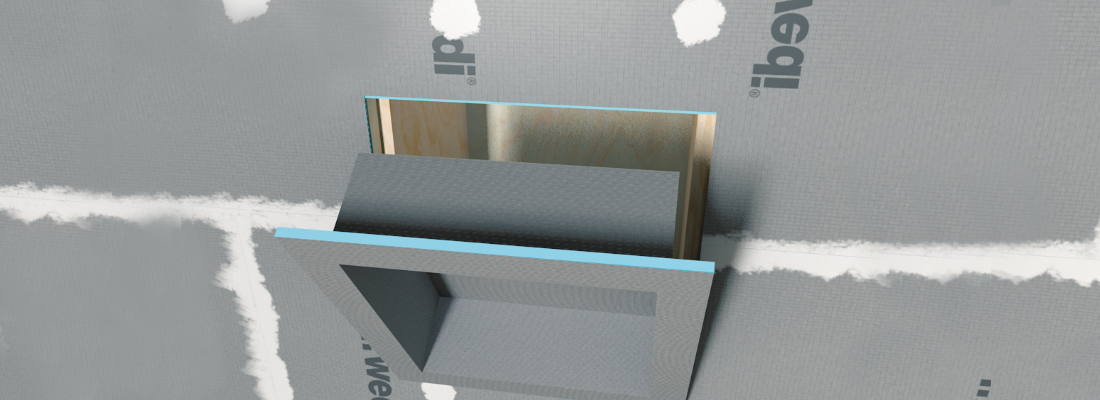 Building Recessed Shower Niches