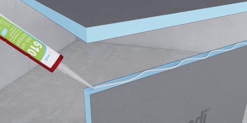 Cr ation de meubles pour salle de bains - Panneau stratifie salle de bain ...
