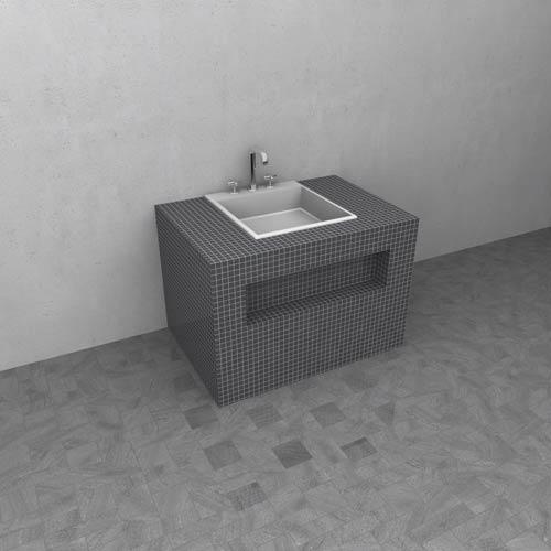 Meuble salle de bain wedi for Panneau hydrofuge pour salle de bain