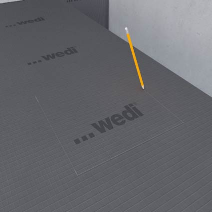 Montage de plaques de renfort – wedi.de