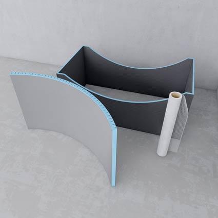 arrondis et formes personnalis es. Black Bedroom Furniture Sets. Home Design Ideas