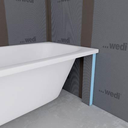 Badkuipen bekleden for Wedi salle de bain