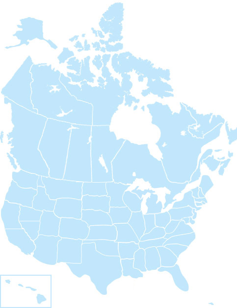 USA and Canada – wedi.de