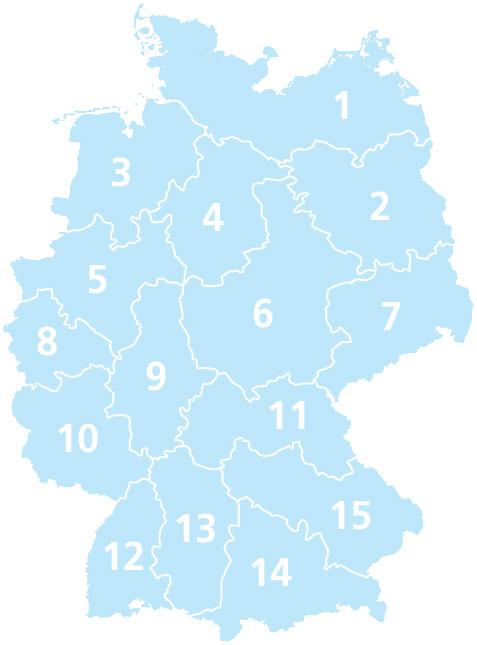 Deutschlandübersicht