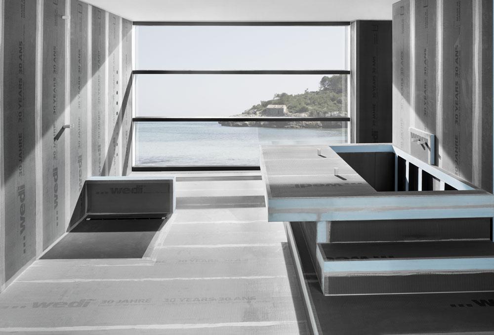 panneau de construction wedi standard absolument. Black Bedroom Furniture Sets. Home Design Ideas