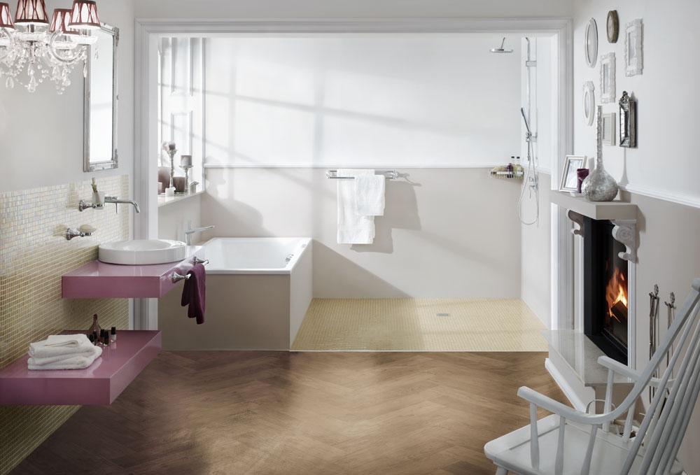 Badezimmer Waschtisch Selber Bauen: Arbeitsplatte fliesen ... | {Waschtisch selber bauen bauplatten 72}