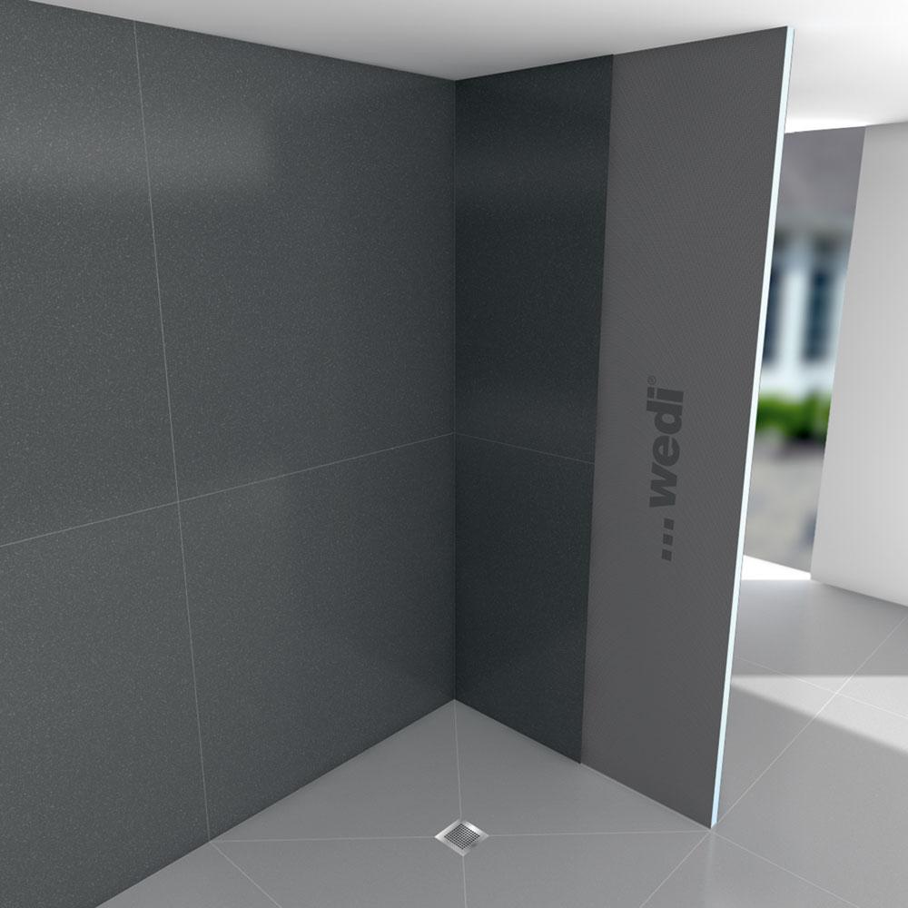 salle de bain wedi gallery of bien panneau hydrofuge salle de bain comment poser des panneaux. Black Bedroom Furniture Sets. Home Design Ideas