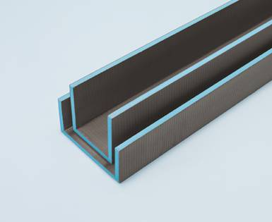 Super wedi Mensolo-L/-U – Pre-fabricated elements for shelving and pipe  KV04