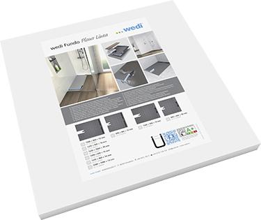 wedi fundo plano linea das flachste wedi komplettsystem mit linienentw sserung. Black Bedroom Furniture Sets. Home Design Ideas