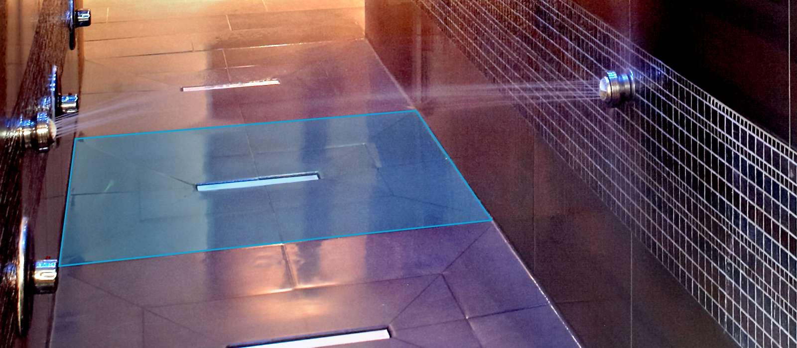 wedi fundo riofino floor level shower element with linear drainageleaking shower bathroom. Black Bedroom Furniture Sets. Home Design Ideas