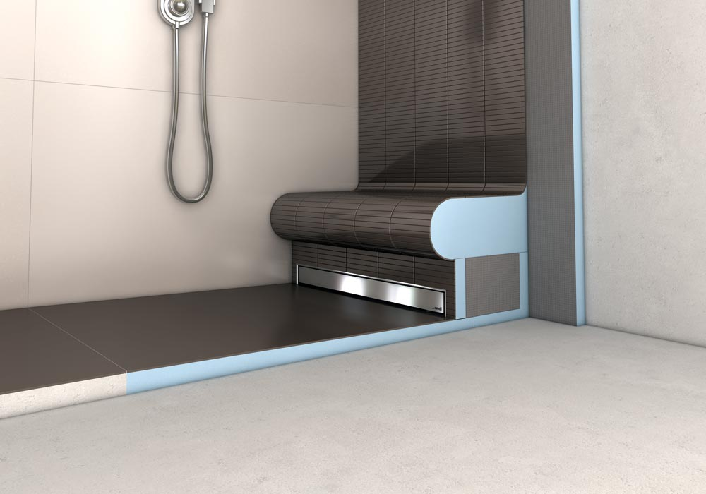 wedi fundo plano linea la douche wedi extra plate. Black Bedroom Furniture Sets. Home Design Ideas