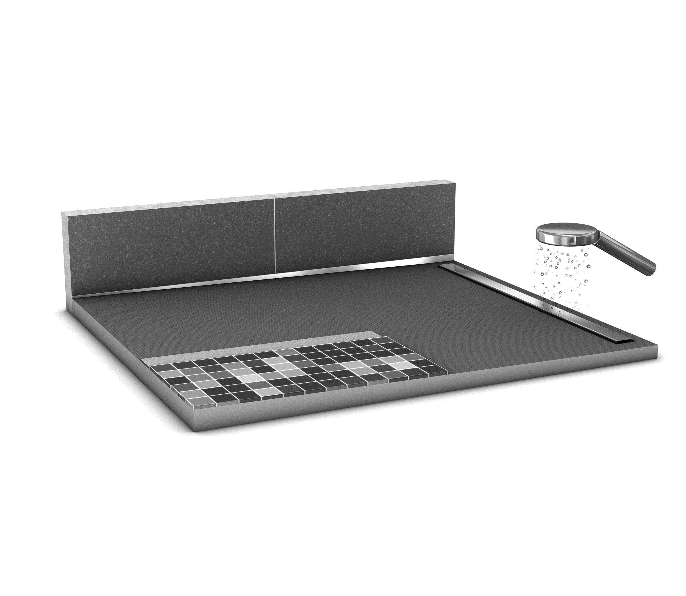 isolation salle de bain wedi. Black Bedroom Furniture Sets. Home Design Ideas