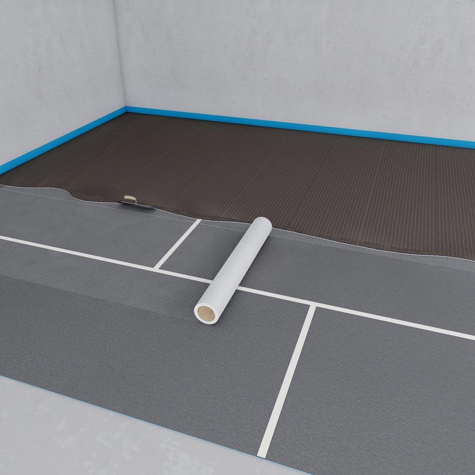 wedi nonstep plan isolation acoustique bruits d impact pour les supports pr sentant des. Black Bedroom Furniture Sets. Home Design Ideas