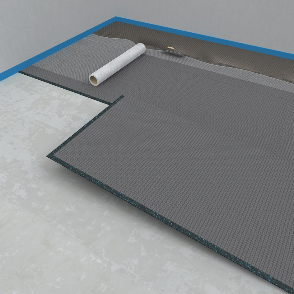 Wedi Subliner Flex : wedi nonstep plus impact sound deadening for level substrates ~ Frokenaadalensverden.com Haus und Dekorationen