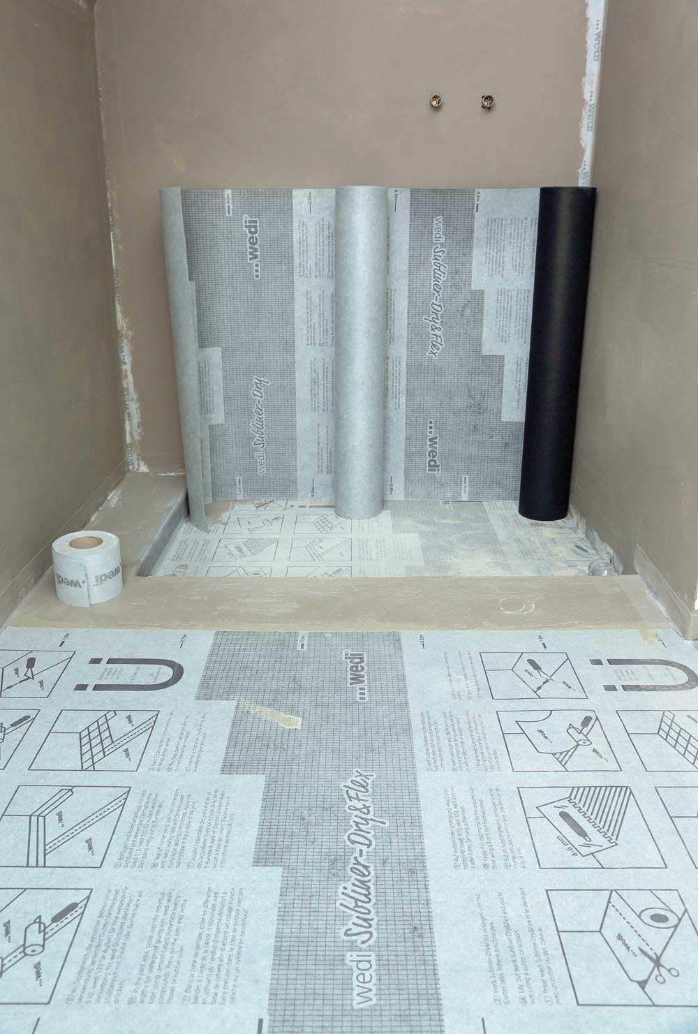 wedi subliner dry flex abdichtungs und entkopplungsbahn ebay. Black Bedroom Furniture Sets. Home Design Ideas
