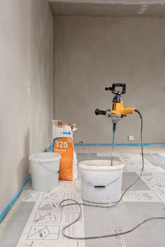 wedi subliner flex afsp ndingsm tte til v g og gulv. Black Bedroom Furniture Sets. Home Design Ideas