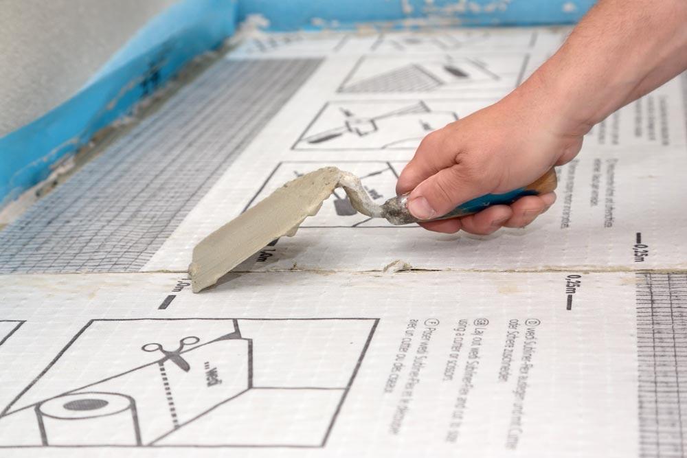 wedi subliner flex entkopplungsbahn f r wand und boden. Black Bedroom Furniture Sets. Home Design Ideas