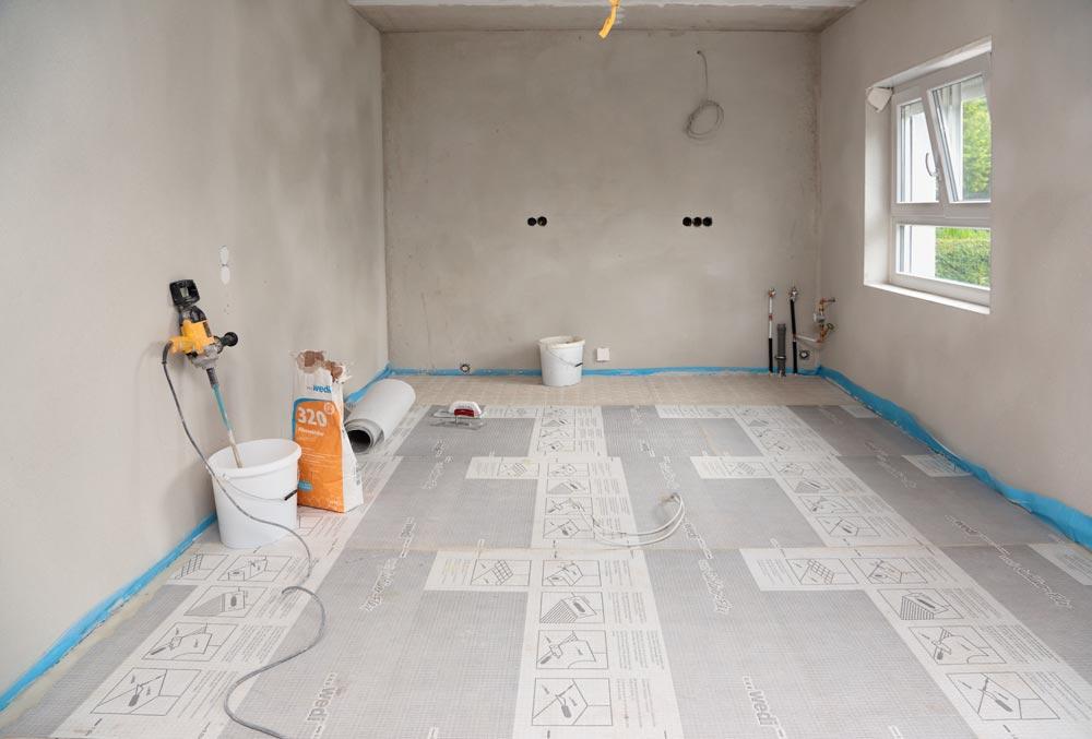 wedi subliner flex bande de d solidarisation pour le mur et le sol. Black Bedroom Furniture Sets. Home Design Ideas