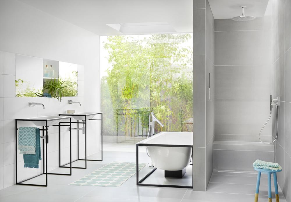 Les banquettes d 39 angle sanoasa permettent de s 39 assoir for Banquette salle de bain