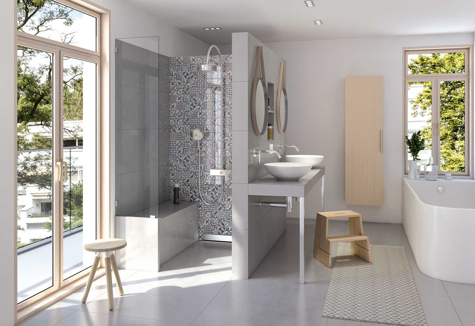 wedi Sanoasa Benches enable seating even in small showers.steam room ...