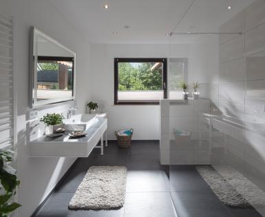 particuliere badkamer - Münster, Duitsland (Fundo Riolito, Sanwel nis, I-Board, Subliner Dry)