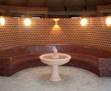 Aménagement d'un centre bien-être au Schlosshotel Meseberg, Gransee (fabrications individuelles)