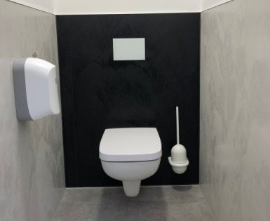 Modernisierung Mitarbeiter WC-Anlagen, Emsdetten - I-Board, Top für I-Board, Top Wall